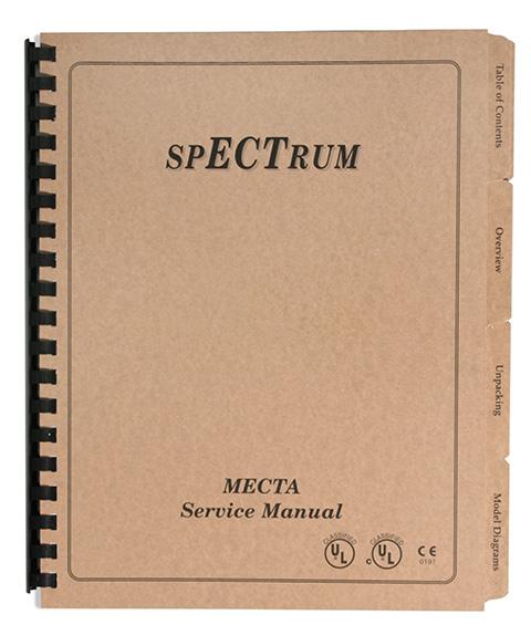 spECTrum Service Manual 200J